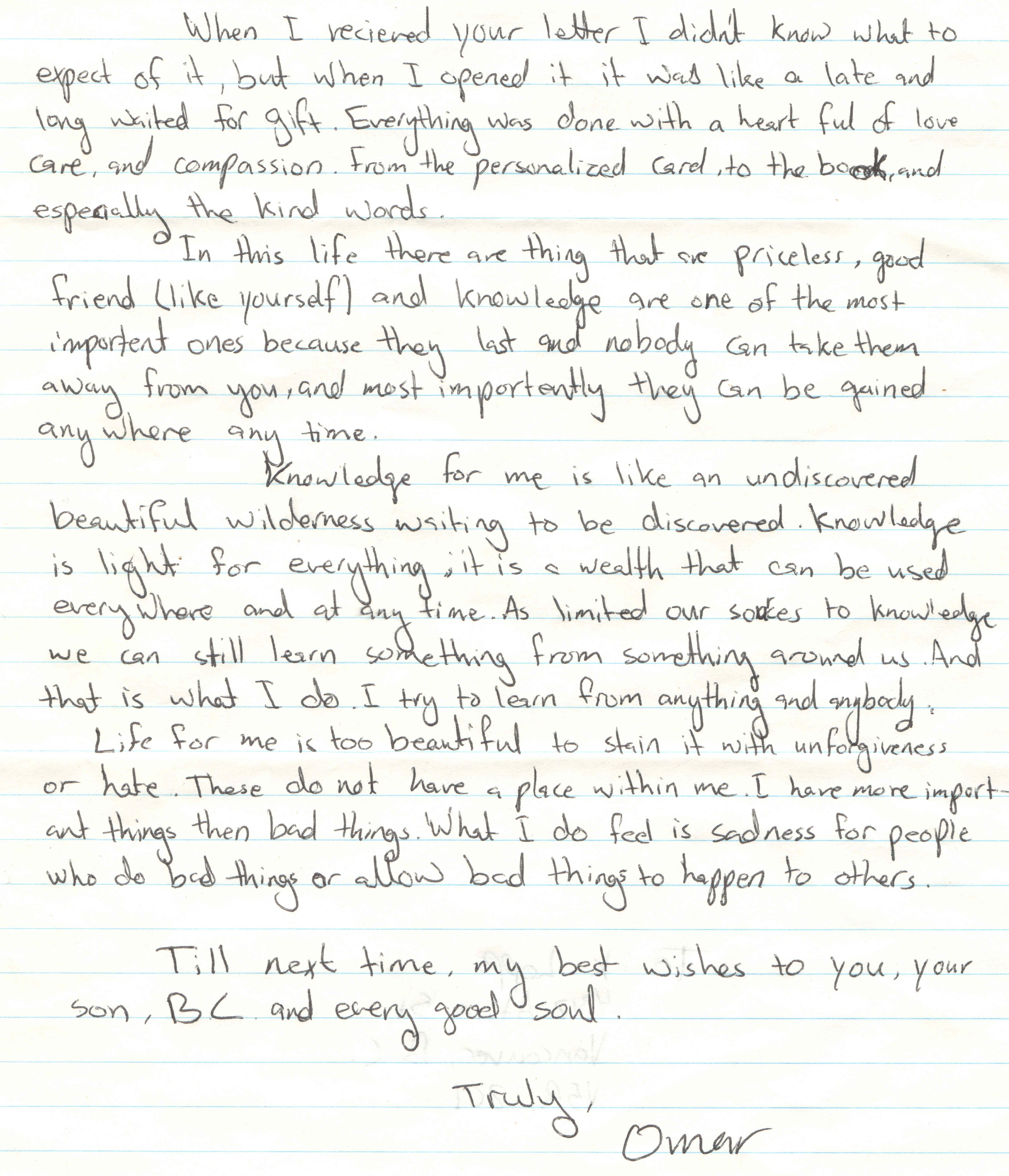 Omar speaks truly omar his letters to friends free omar omars words spiritdancerdesigns Image collections