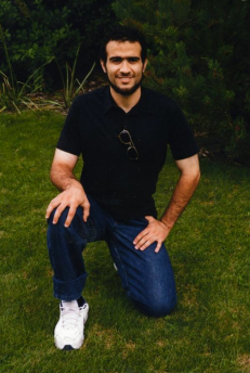 2014 | Omar Khadr during Eid in Bowden Institution. First photo of Omar that the public saw in 6 years.