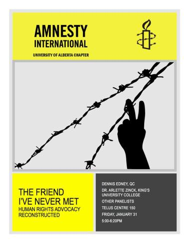 Amnesty The Friend I've Never Met