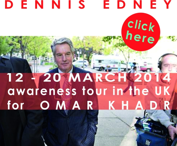 Dennis Edney UK awareness tour for Omar Khadr