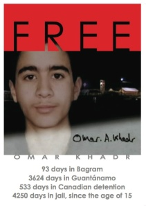 Omar Khadr 4250 days in jail