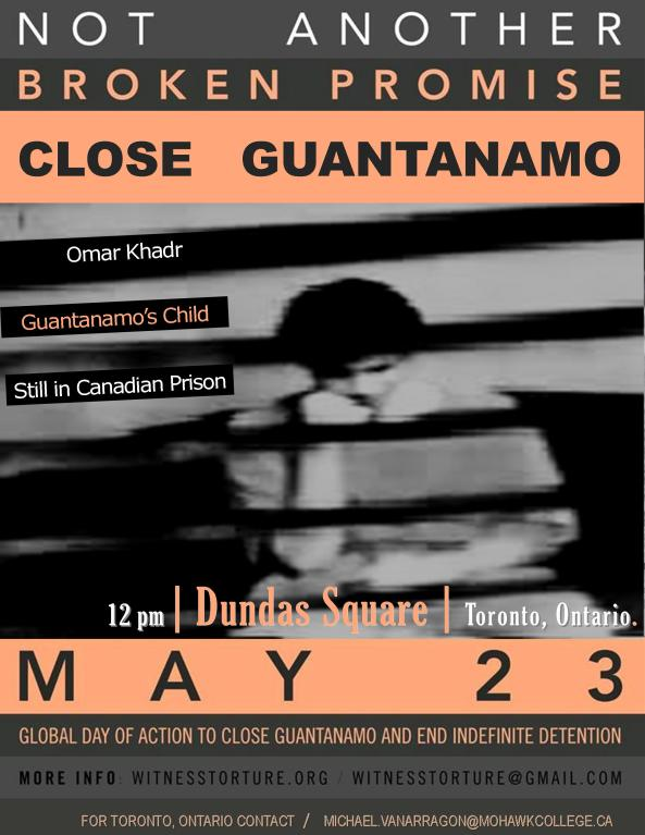 Omar Khadr, Guantanamo's Child - Still in a Canadian Prison.