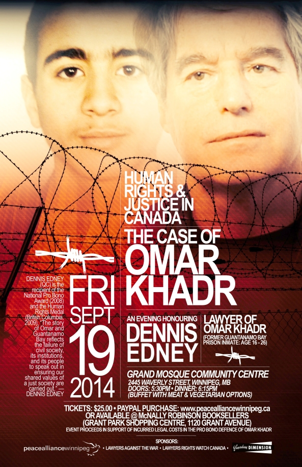Winnipeg Poster Omar Khadr