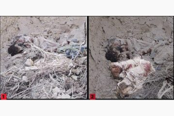 Omar found after firefight under the rubble of collapsed building