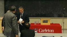 Dennis Edney at Carleton University