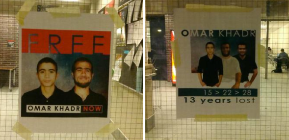 Free Omar Khadr Now Carleton University
