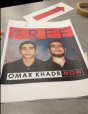 Signs Omar Khadr Carleton University