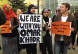 120 supporters for Omar Khadr