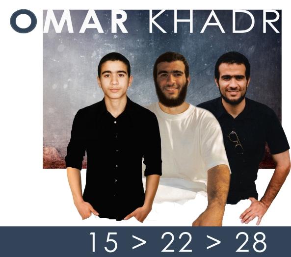 Omar Khadr age 15 22 28 (1)